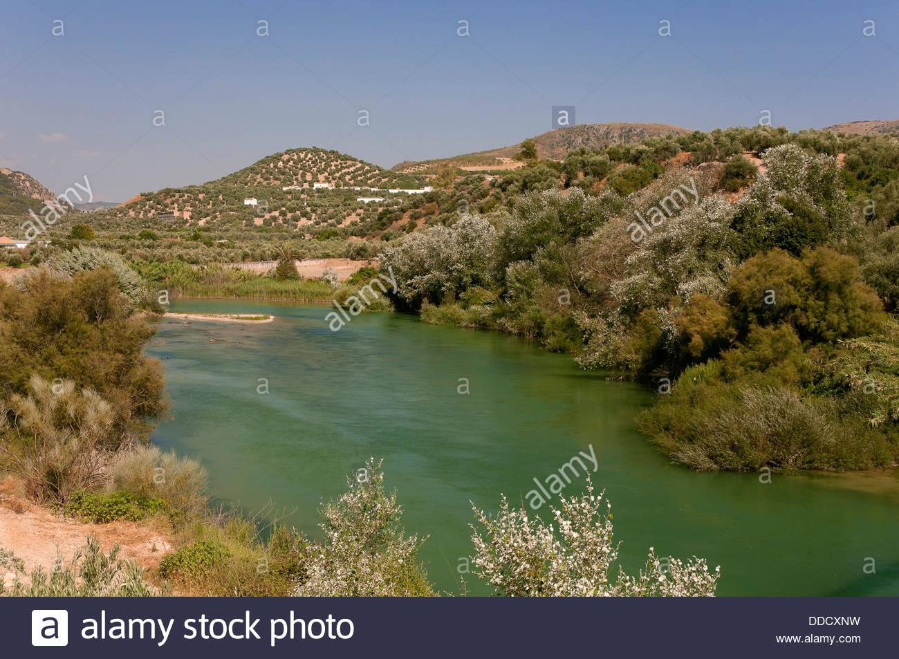 Genil River, Cuevas De San Marcos, Malaga.