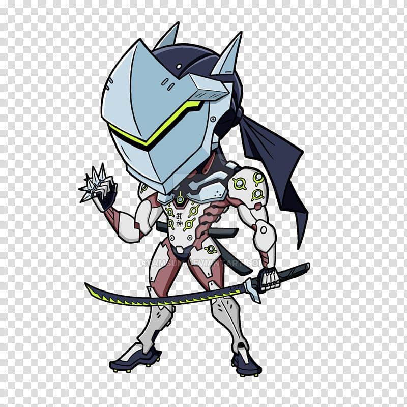 Overwatch Genji: Dawn of the Samurai Video game Art, Cyborg.