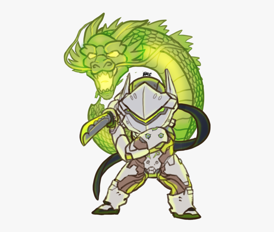 Genji Dragon Png Clipart Royalty Free Download.