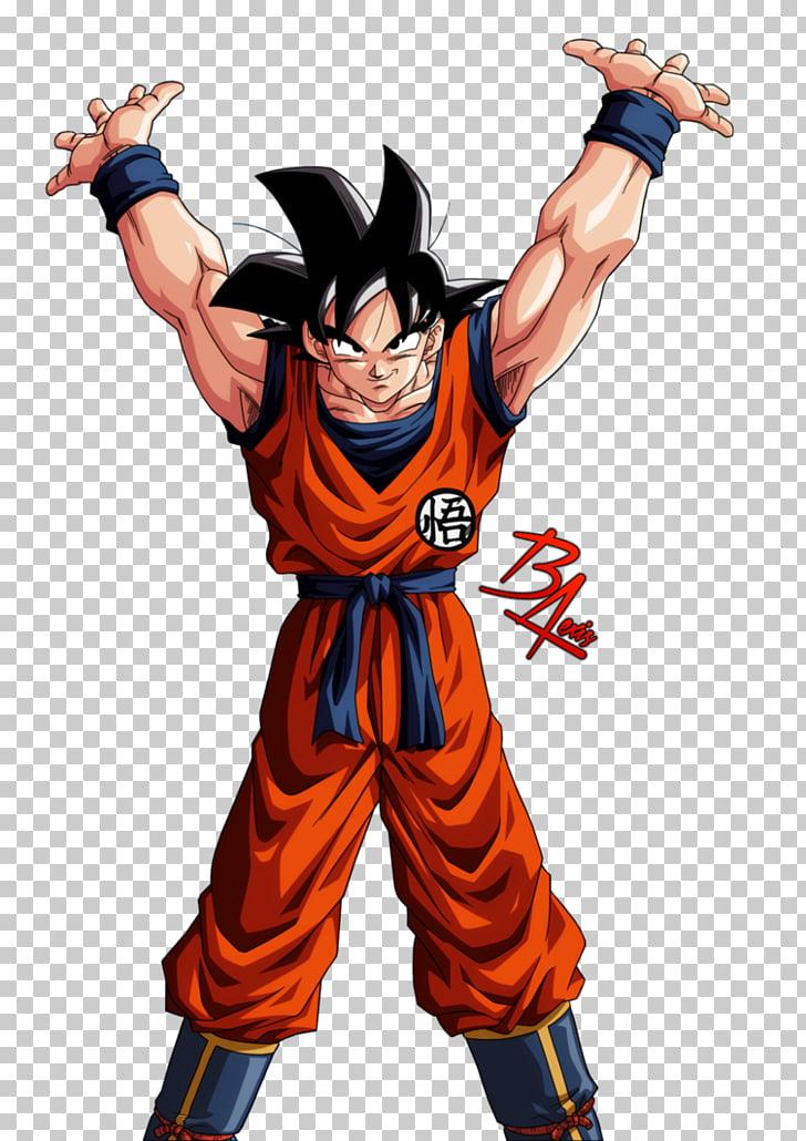 Goku Vegeta Gohan Goten Genkidama, goku, Son Goku.