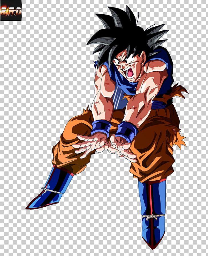 Goku Majin Buu Genkidama Dragon Ball Anime PNG, Clipart.