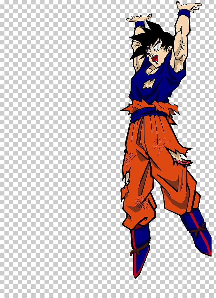 Goku Vegeta Genkidama Super Saiyan Manga, Genki dama PNG.