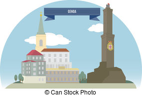 Genoa Clipart and Stock Illustrations. 177 Genoa vector EPS.