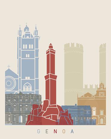Genoa Clip Art, Vector Images & Illustrations.