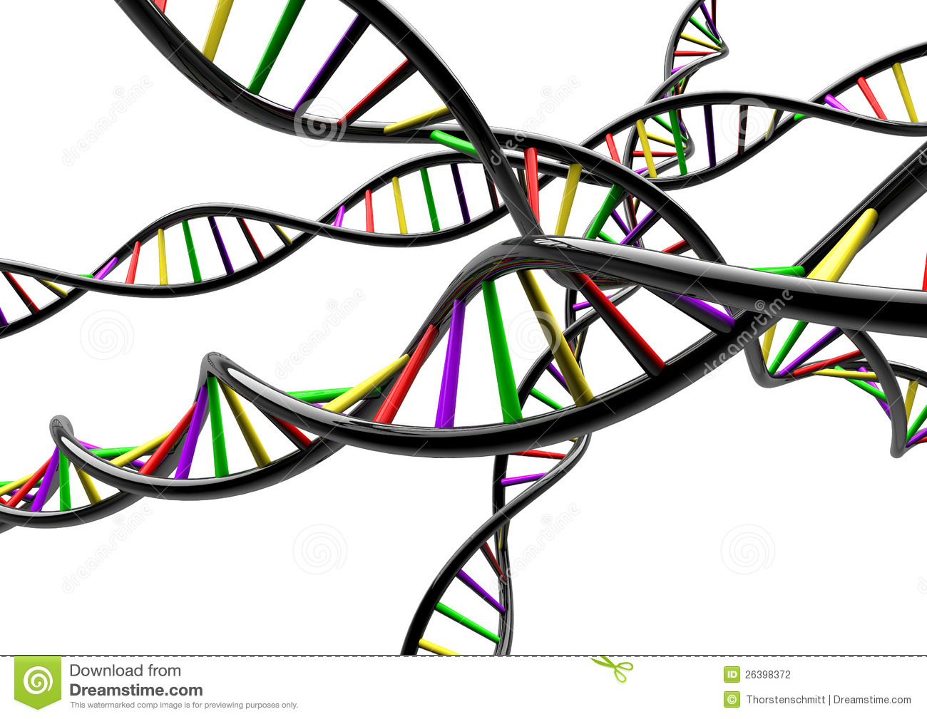 Personal Genome Sequencing Stock Photos.