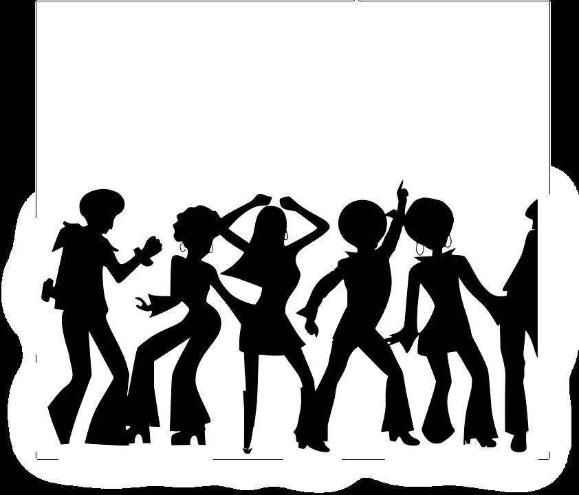 Discoteca Personas Bailando.