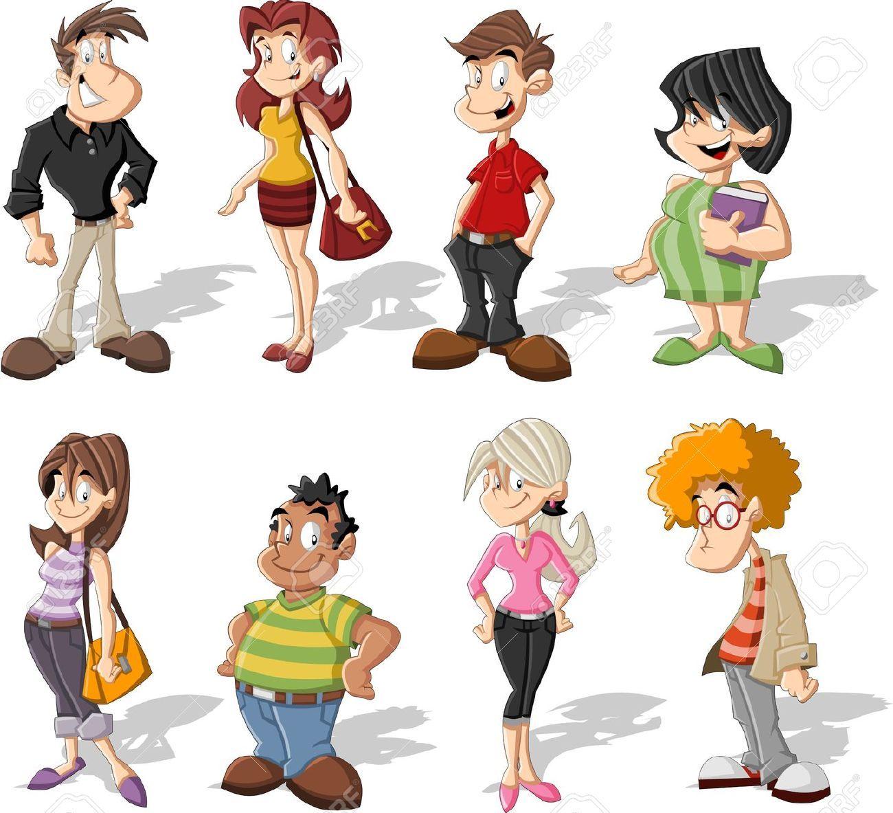 Image result for clipart grupo de gente.
