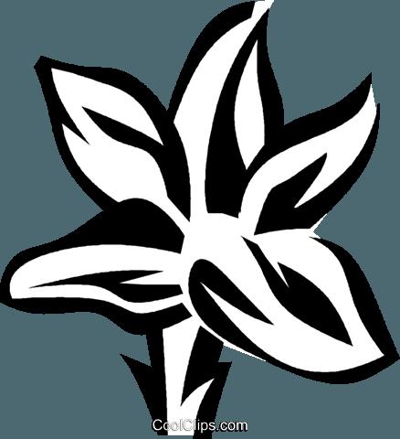 gentian Royalty Free Vector Clip Art illustration.