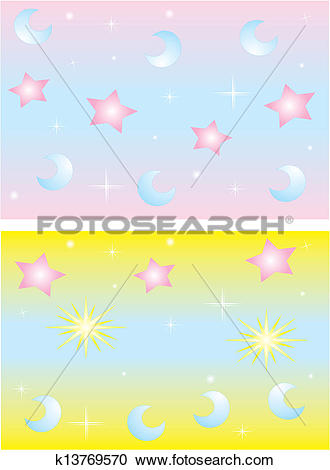 Clipart of Gentle light background k13769570.