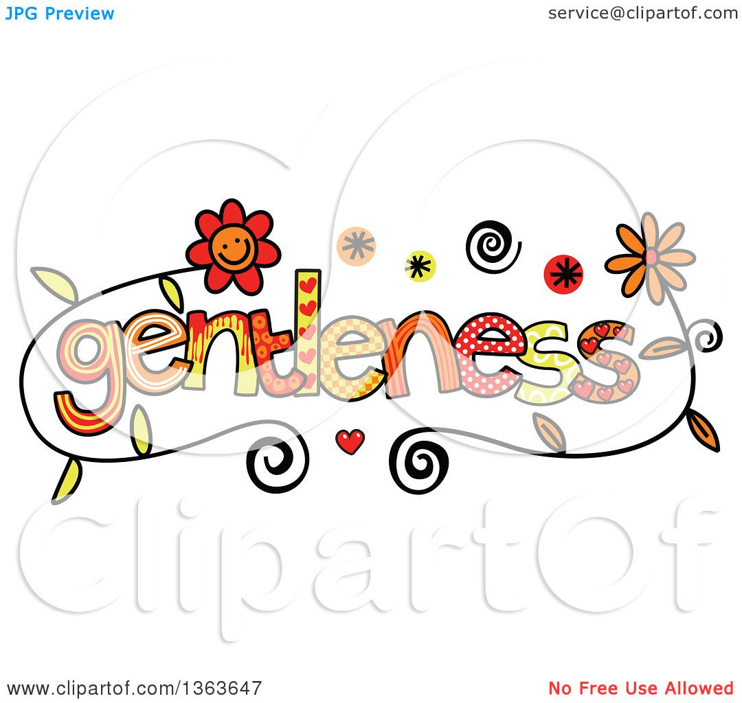 Showing post & media for Gentleness clip art cartoon.