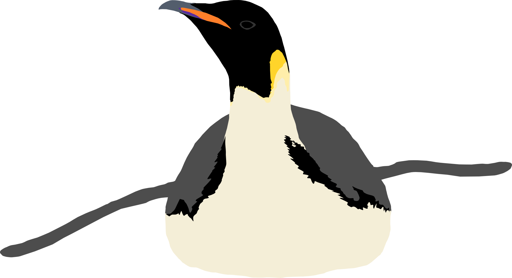Clipart penguin gentoo penguin, Clipart penguin gentoo.