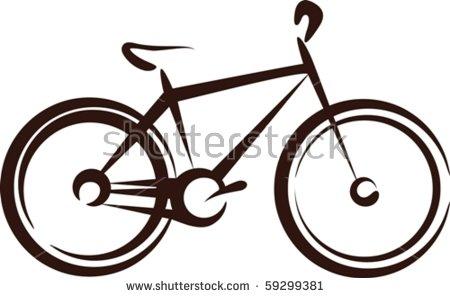 Classic Mens Town Dutch Bike Silhouette Stock Vector 169162313.