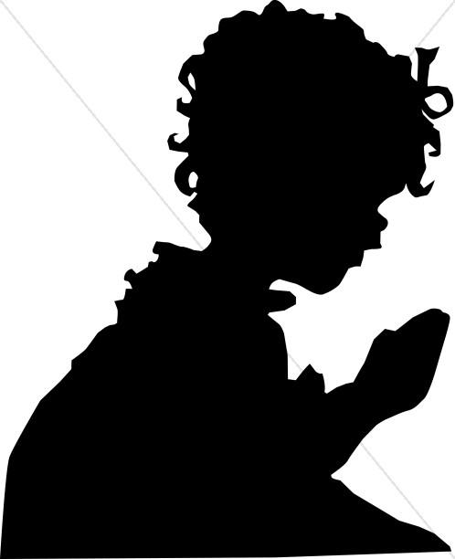 Child in Prayer.