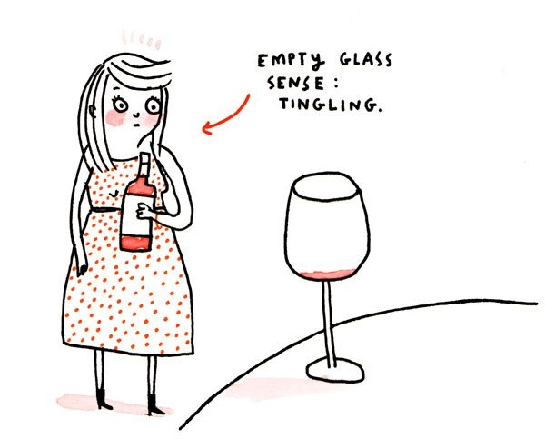 Genuine partner wine clipart #5