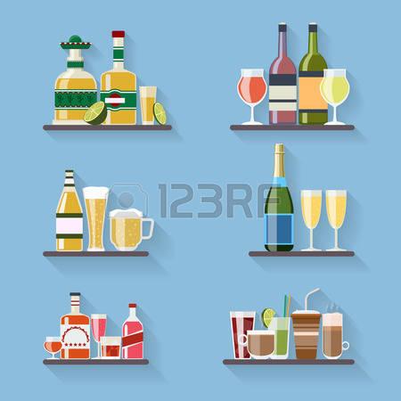 Genuine partner wine clipart #13