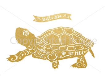Turtle lamp.