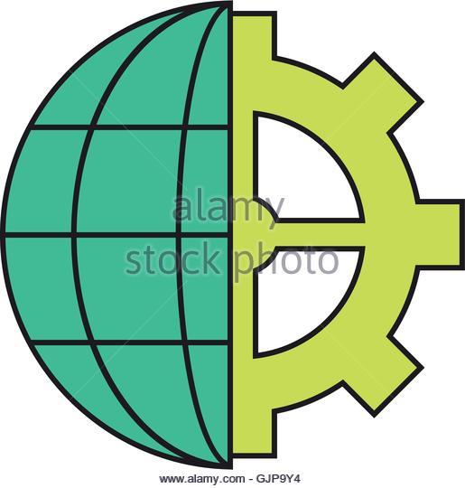 Geo Engineering Stock Vector Images.