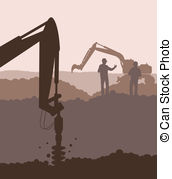 Geotechnical Clip Art and Stock Illustrations. 11 Geotechnical EPS.
