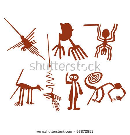 Geoglyphs Stock Vectors & Vector Clip Art.