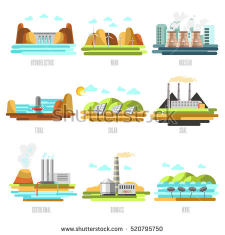 Geothermal Power Station Stock Vectors, Images & Vector Art.