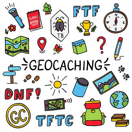 168 Geocaching Stock Illustrations, Cliparts And Royalty Free.