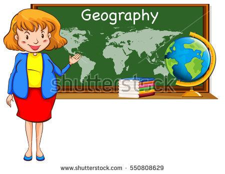 Geography Teacher Stock Photos, Royalty.
