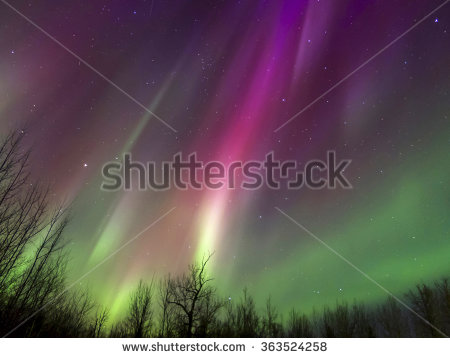 Geomagnetic Storm Stock Photos, Royalty.