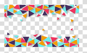 Triangle Border transparent background PNG cliparts free.