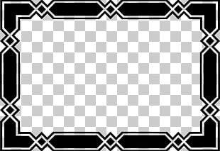 Geometric Border PNG Images, Geometric Border Clipart Free.