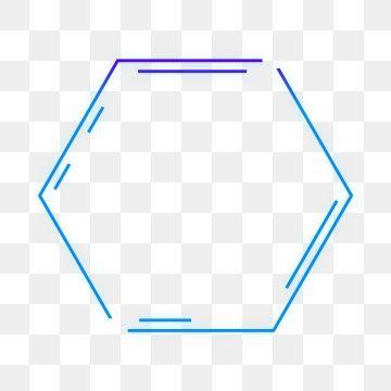 Png Free Buckle Blue Gradient Glowing Modern Geometric.