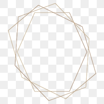 Geometric Frame PNG Images.