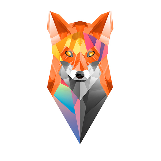 Geometric Graphic Design Animal.
