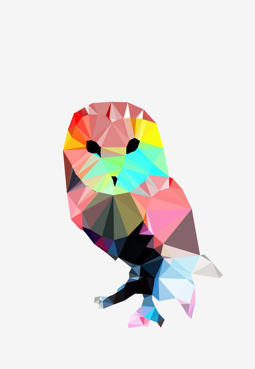 Design Inspiration: '06 Geometric Animal' by Roosevelt Graphic.