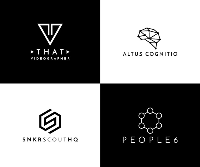 design modern minimalist geometric logo with in 24 hours.