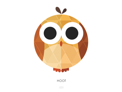 Geometric Owl by Krislam Chin.