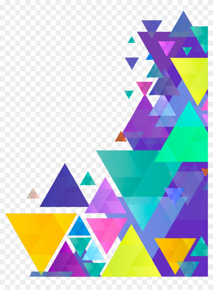 Geometric Border Backgrounds Png.