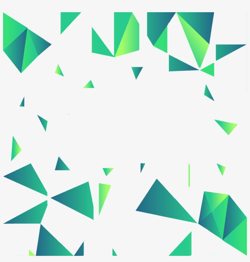 Green Geometric Backgrounds Png.