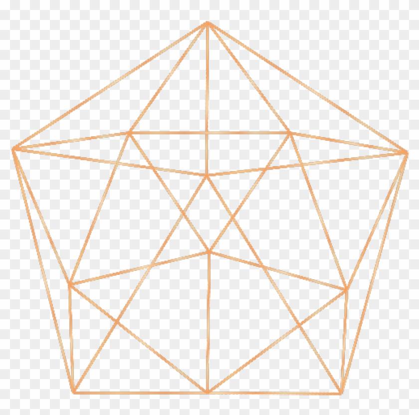 rose Gold #geometric #shape #freetoedit #overlay.