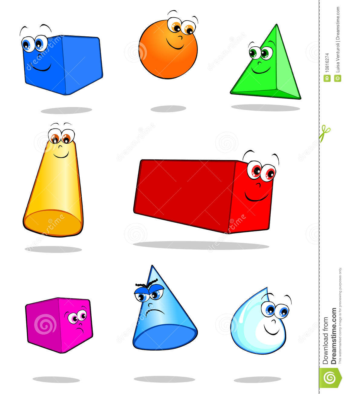 Similiar Solid Geometric Shapes Clip Art Keywords.