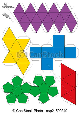 Geometric solids Clip Art and Stock Illustrations. 2,380 Geometric.