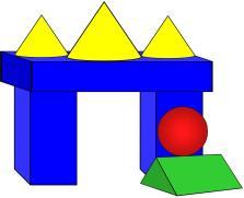 Geometric Solids Clip Art.