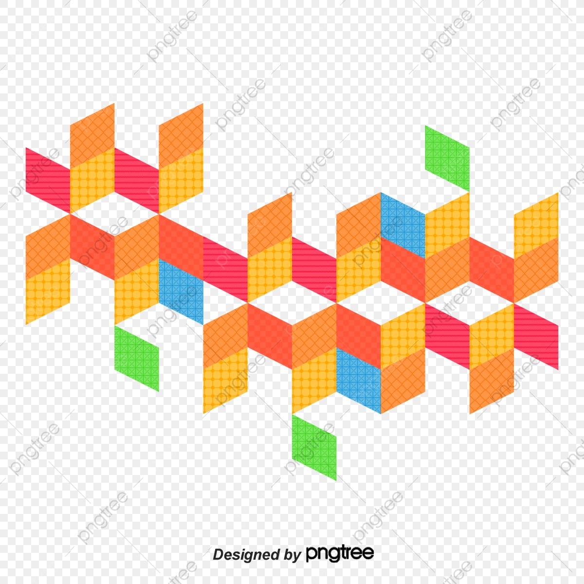 Geometric Vector Diagram, Hand, Geometric Figure, Mosaic PNG and.