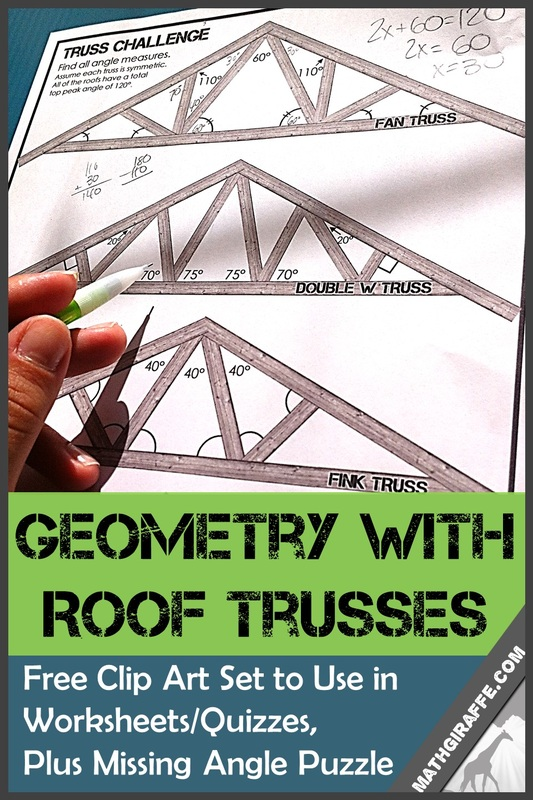 Geometry With Roof Trusses.