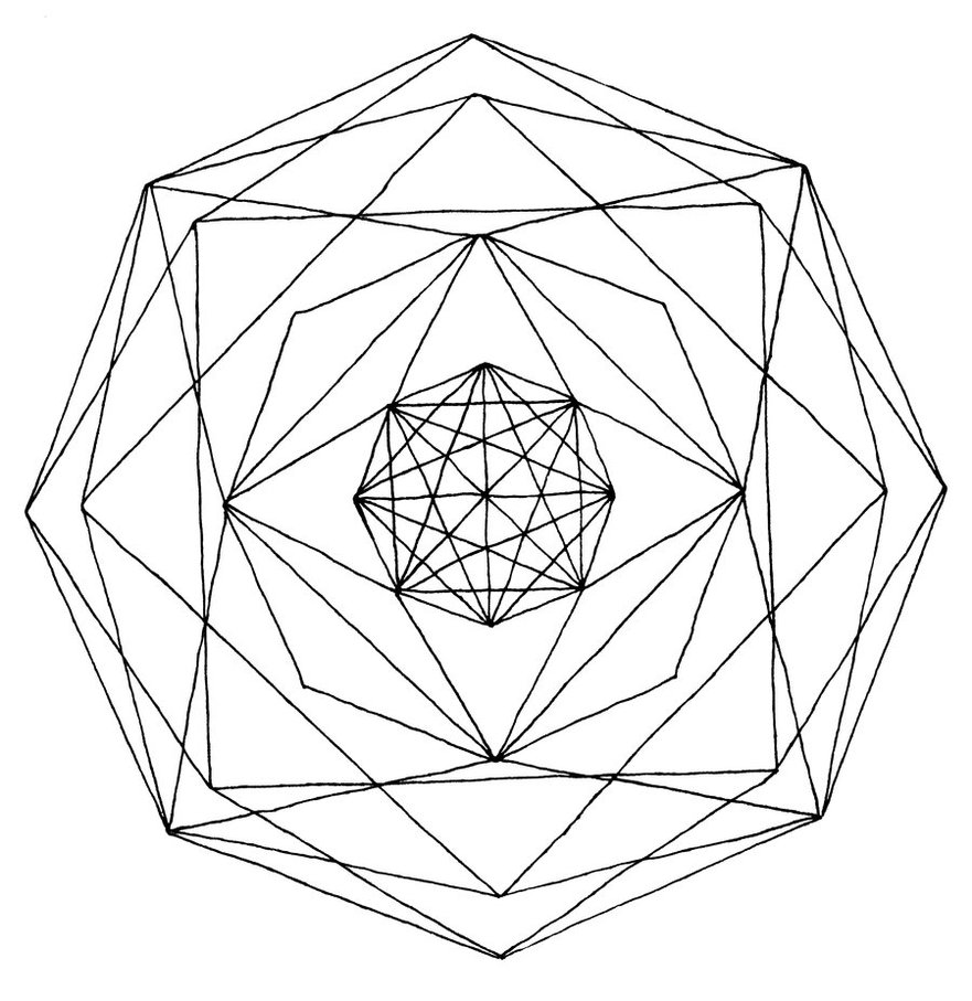 Geometry Line Art 20 Free Cliparts Download Images On