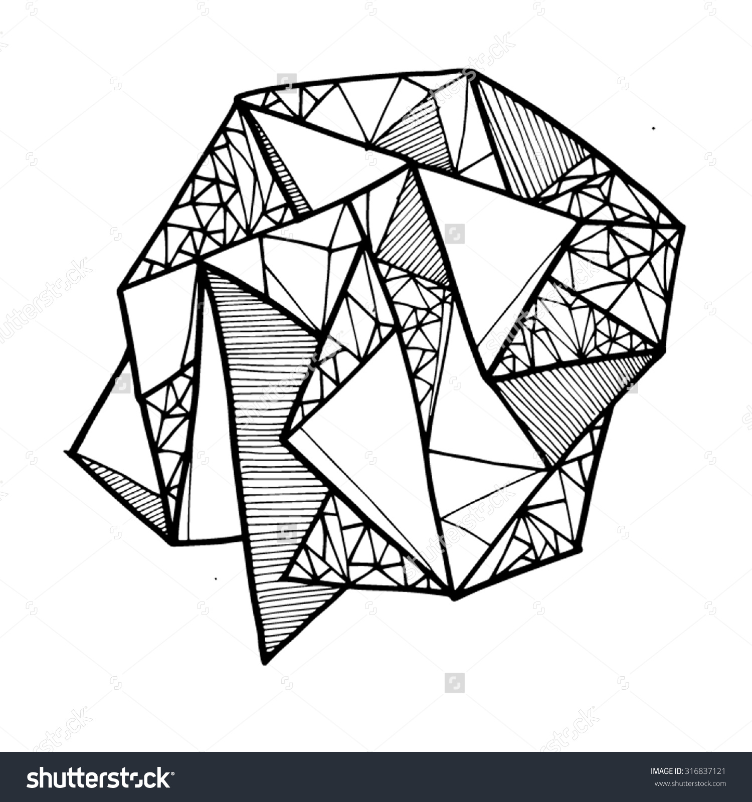 Line And Art : Geometry line art clipground