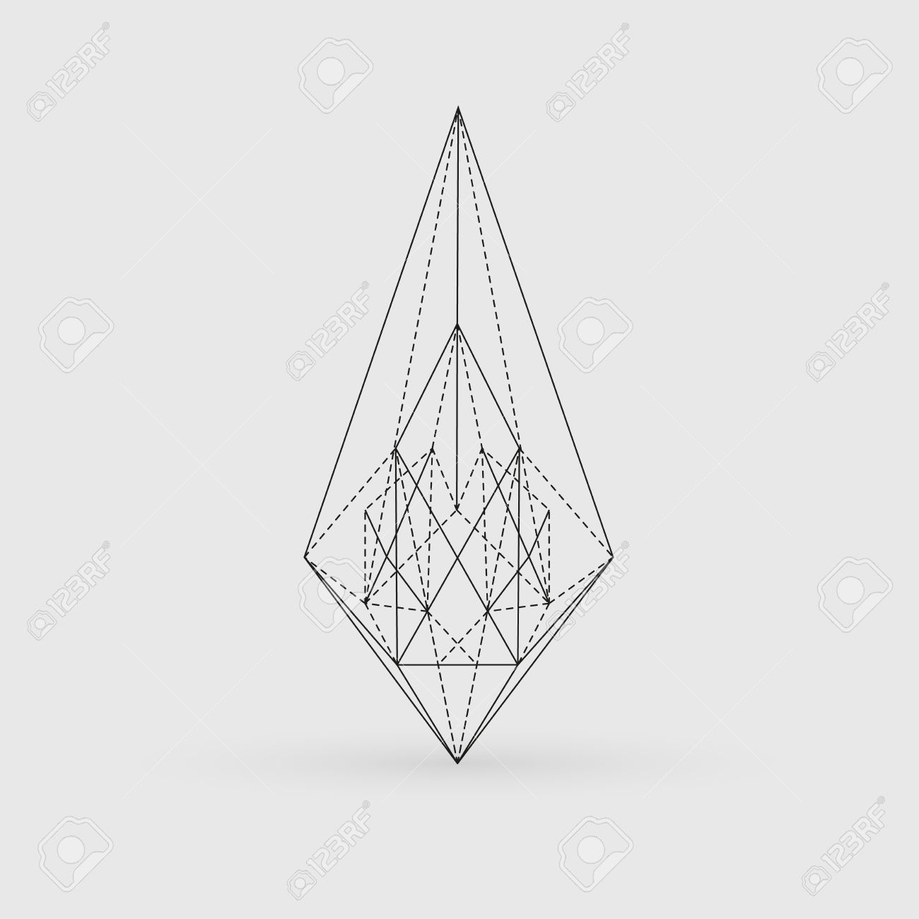 Geometric Line Design Patterns : Geometry line art clipground