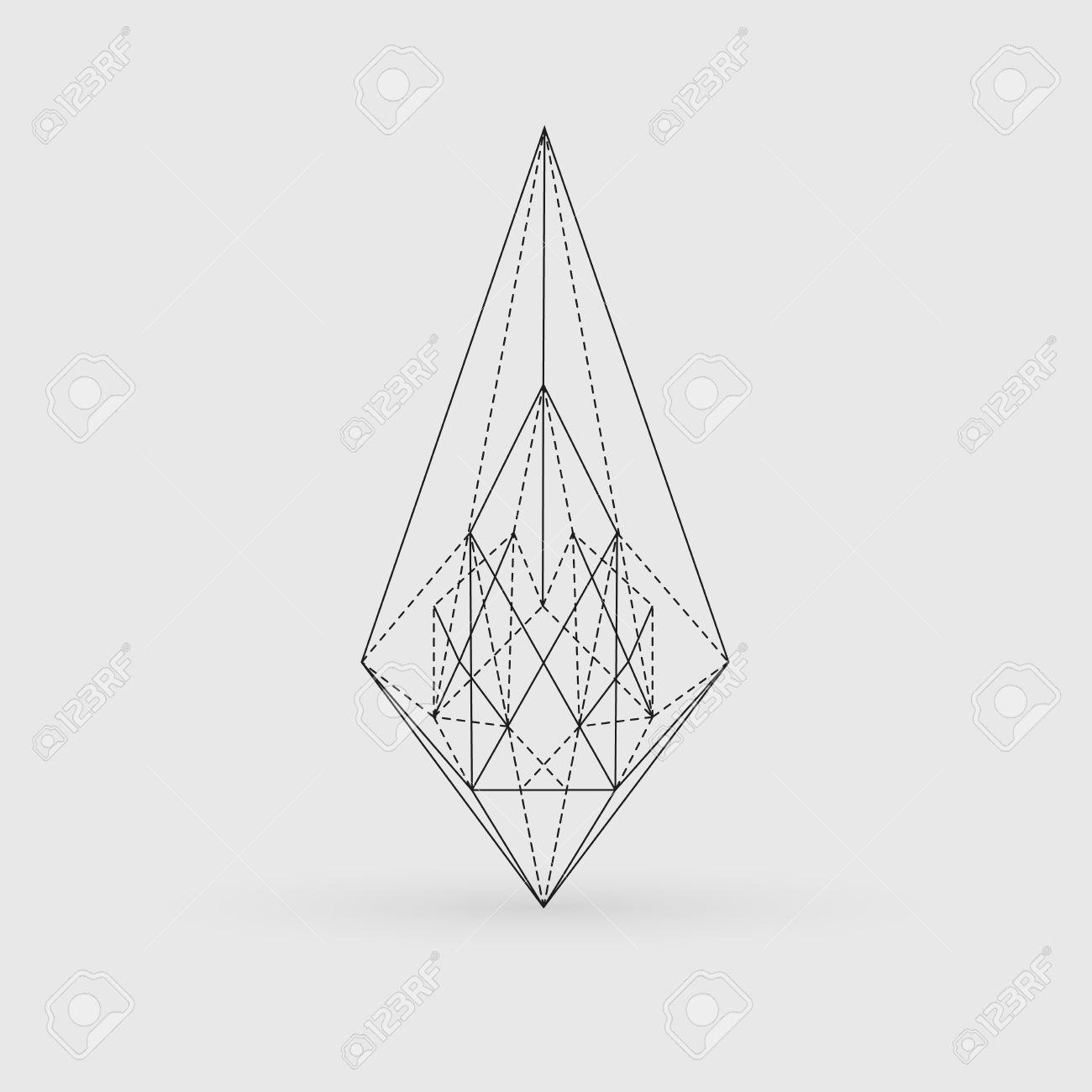 Geometry Line Art.
