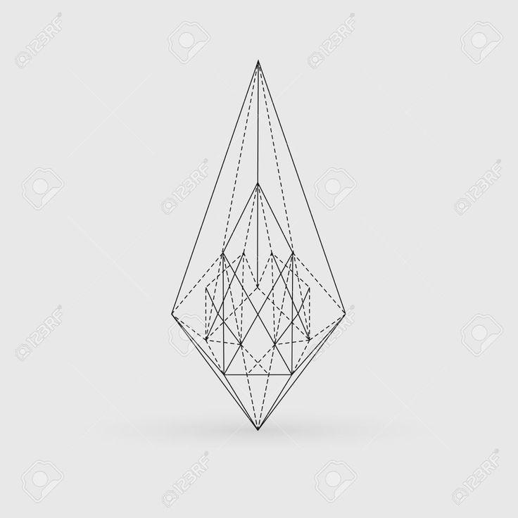 17 Best ideas about Geometric Line Tattoo on Pinterest.