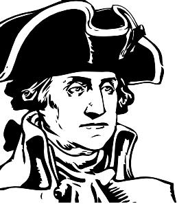 George Washington Clip Art at Clker.com.