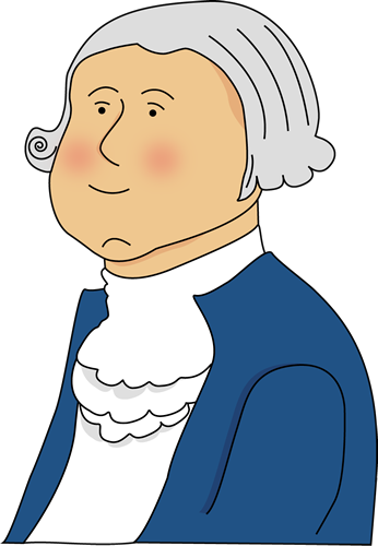 George Washington Clip Art.